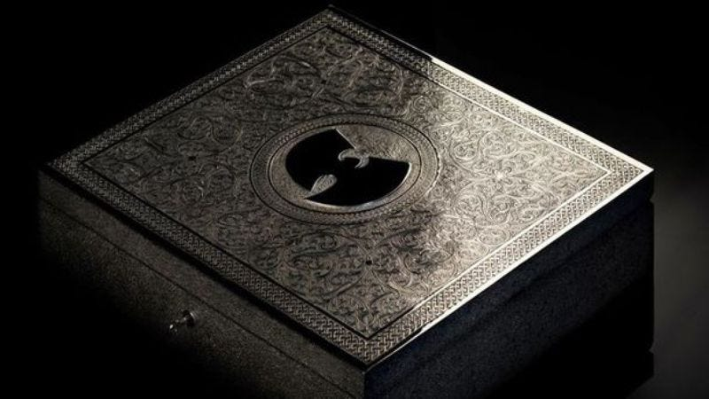 Illustration for article titled Someone actually bought that crazy expensive Wu-Tang album