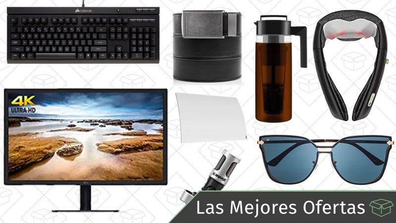 Illustration for article titled Las mejores ofertas de este jueves: Cinturones, masajeadores eléctricos, monitor 4K y más