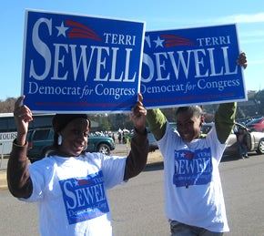 Illustration for article titled Terri Sewell Wins Democratic Nomination in Alabama's 7th District
