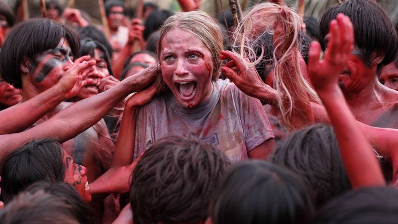 Illustration for article titled Eli Roth cannibalizes himself again with The Green Inferno