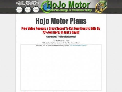 Hojo Motor Plansbuying books on kindle