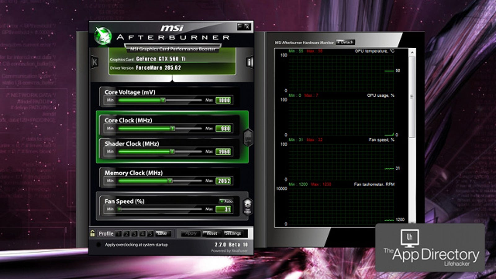 The Best Video Card Overclocking App for Windows