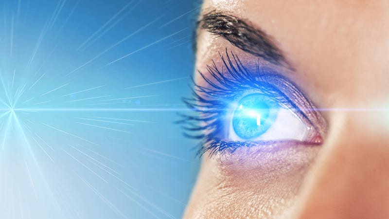 Illustration for article titled The Solar Power Eye Implant Which Restores Sight