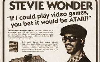 Illustration for article titled Sorry, That Crazy Stevie Wonder + Atari Poster Is Fake