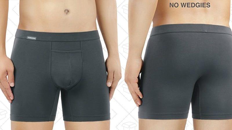 David Archy 3-Pack Supima Cotton Boxer Briefs | $22 | Amazon