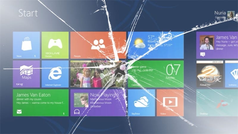 Illustration for article titled Three Killer Problems That Threaten Windows 8