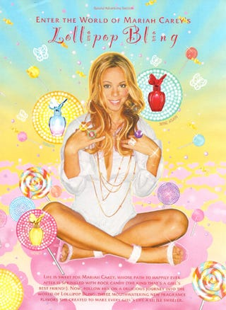 """Illustration for article titled Get High On Sugar & Enter Mariah's 3D """"Experience"""""""