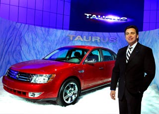 Illustration for article titled Ford's New Bull Is Official: Exit The Five Hundred, Enter The Taurus