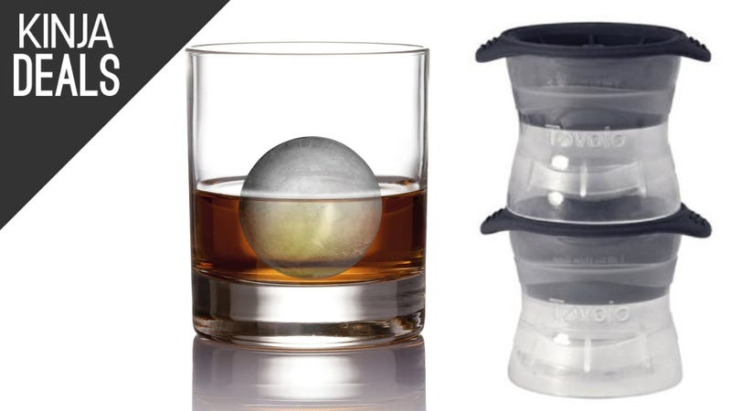 Illustration for article titled Run a Fancy Cocktail Bar From Home With Cheap, Spherical Ice Molds