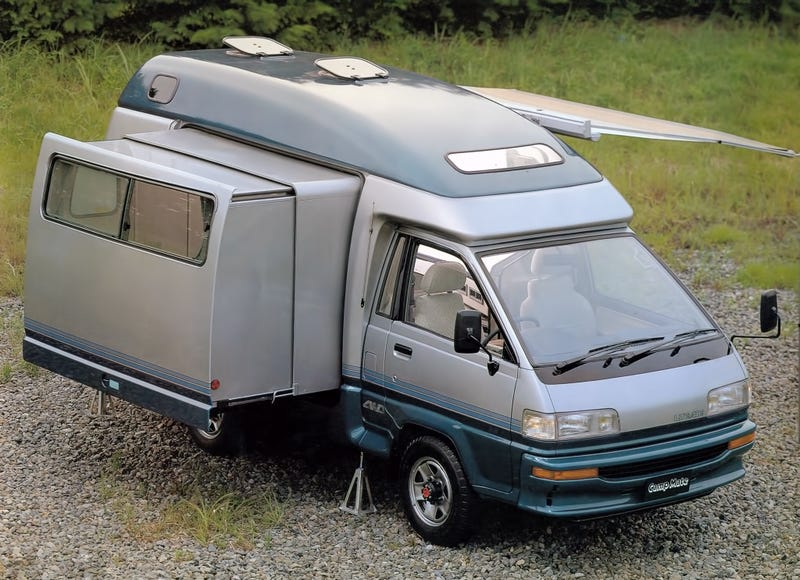 Illustration for article titled 1989 Toyota Camp Mate