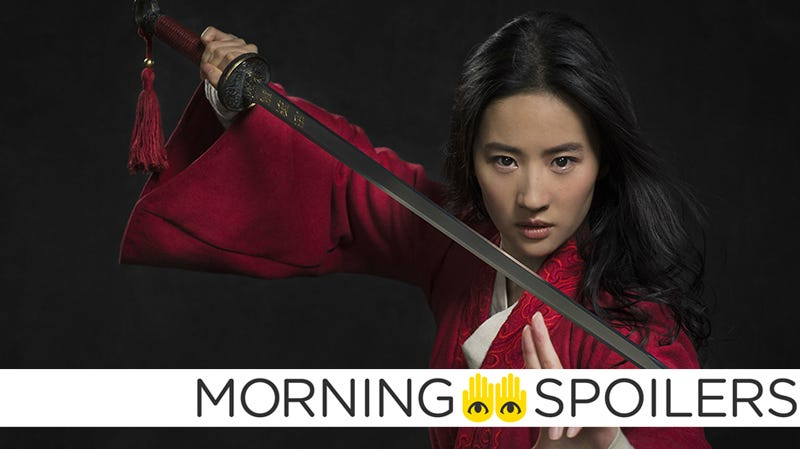 Liu Yifei as Disney's live-action Mulan.