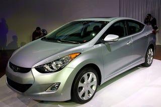 Illustration for article titled 2011 Hyundai Elantra Heats Your Buns