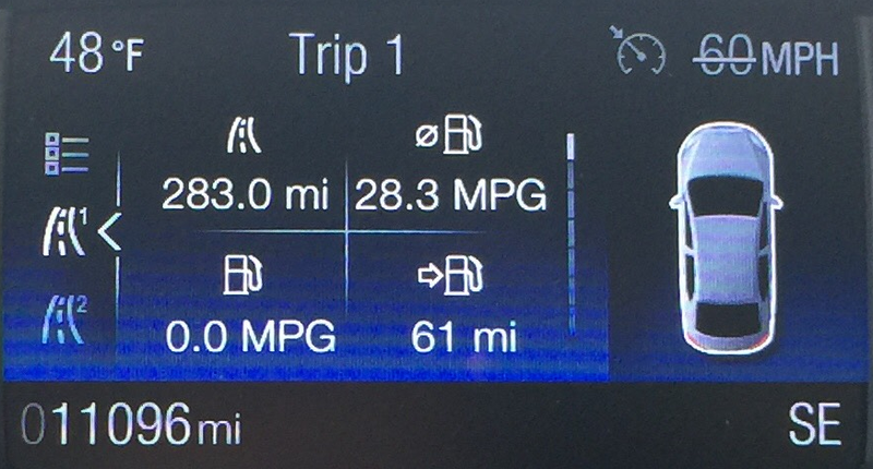 I suspect there are very few Focus STs that have ever been returned better than 25mpg.