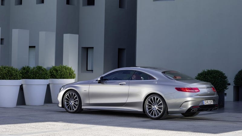 Two Doors, 47 Swarovski Crystals, A Sexy Butt And 455 Horsepower From A  4.7 Liter Biturbo V8. The 2015 Mercedes Benz S Class Coupe Is Here To Solve  A Few ...