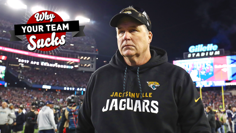 951457f4 Why Your Team Sucks 2018: Jacksonville Jaguars