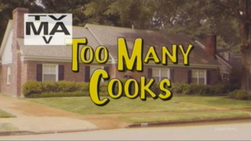 Illustration for article titled Adult Swim's Too Many Cooks is the weirdest sitcom to never exist
