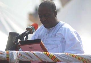 Vice President John Dramani Mahama (Republic of Ghana)