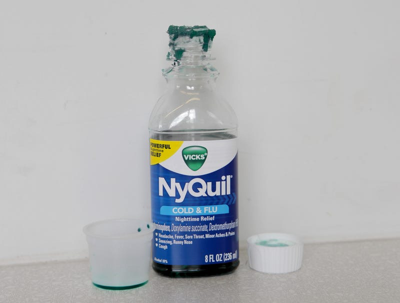 Illustration for article titled Crusted Ring Around NyQuil Bottle Top Coming Along Nicely