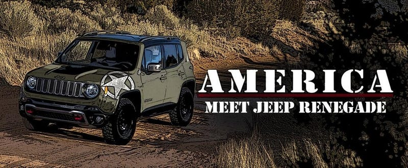 Illustration for article titled For all the America-loving Jeep-lovers out there