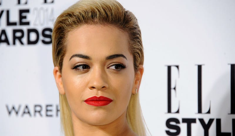 Illustration for article titled Rita Ora Is An Icy Swan Lake Princess