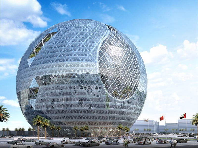 Illustration for article titled Dubai's Technosphere Concept Would Fit Right Into a Disney Park