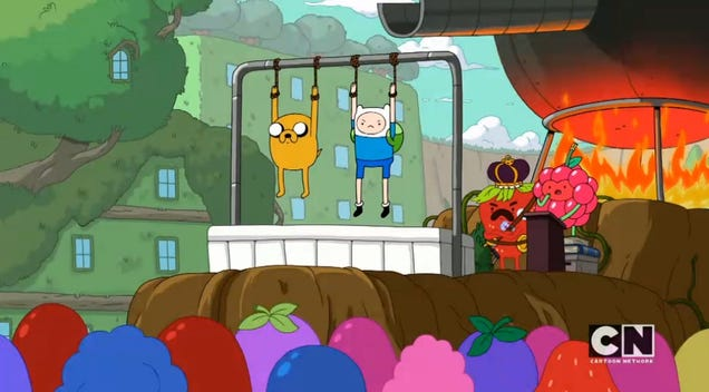 adventure time furniture and meet