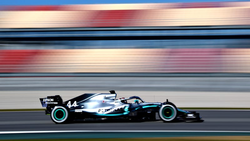 Lewis Hamilton, who will surely get several fastest-lap points, should they happen, at winter testing in February.