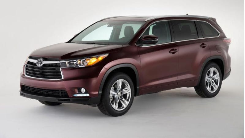 Illustration for article titled The 2014 Toyota Highlander Has No Rival, No SUV Can Be Its Equal