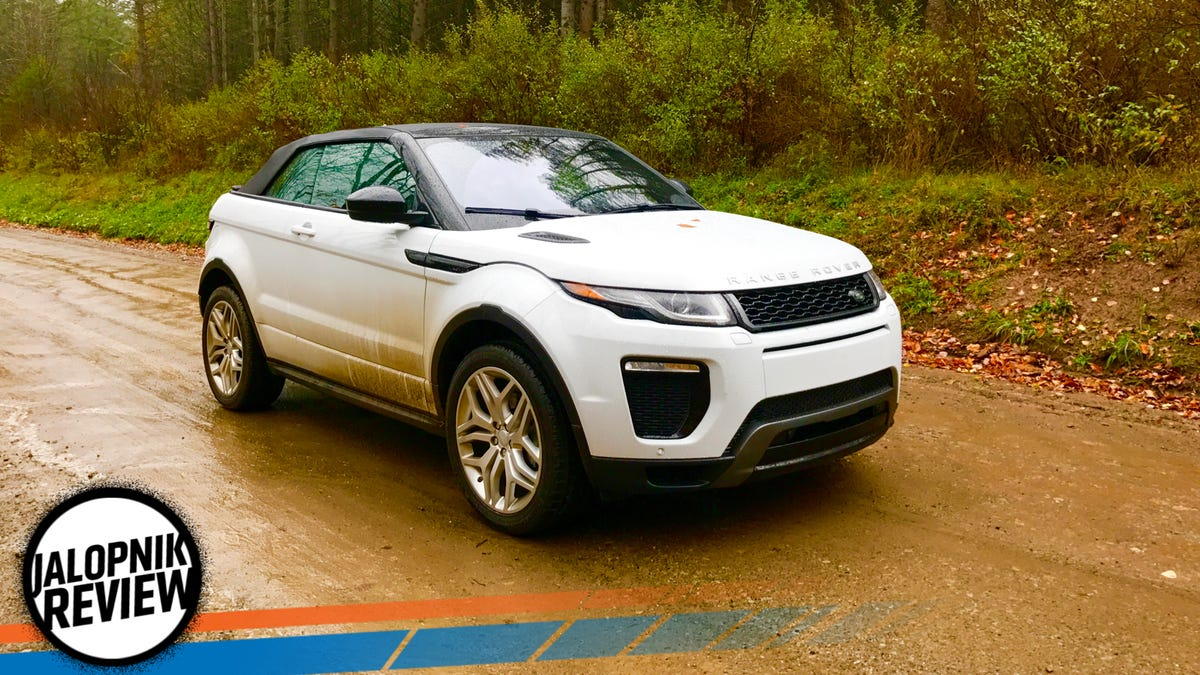 car price landrover rear evoque convertible autocar land rover review range