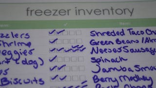 Illustration for article titled Create a Freezer Inventory for Your Chest Freezer