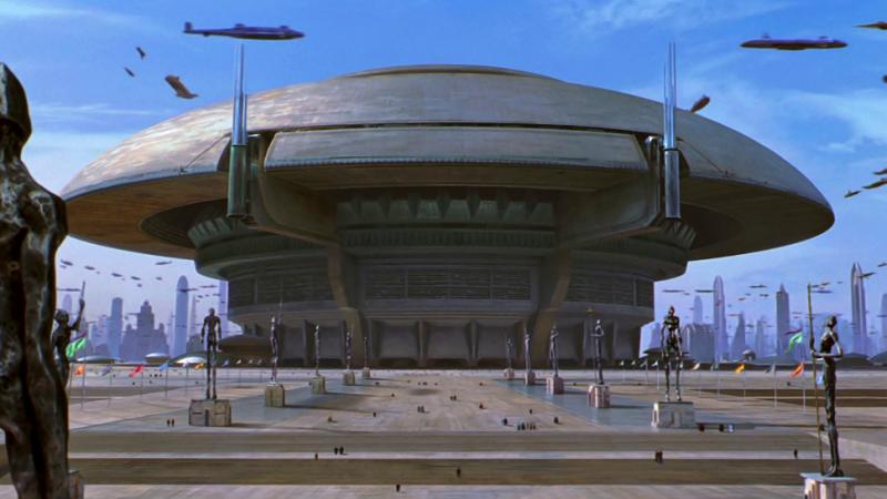 Illustration for article titled 12 formas futuristas de gobierno que algún día podrían existir en el mundo