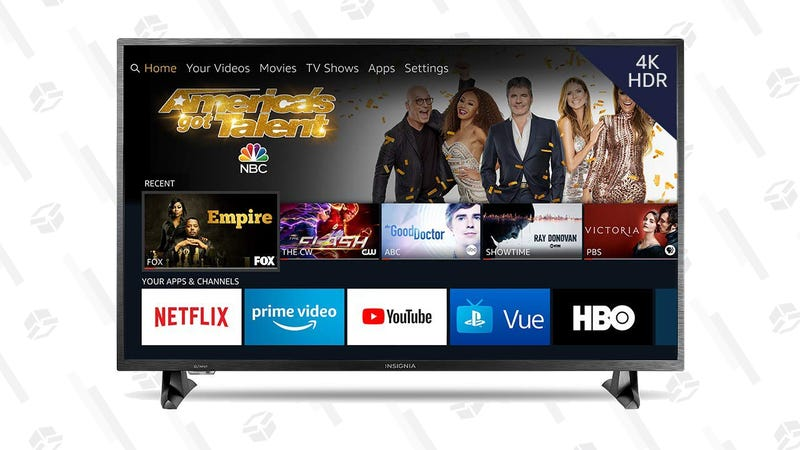 "Insignia 50"" 4K UHD Fire TV | $270 | Amazon"