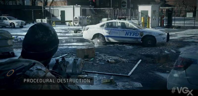 Illustration for article titled Ubisoft Shows Off The Division's Next-Gen Engine