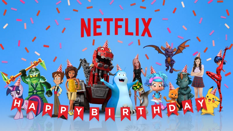 Get your kid a birthday greeting from barbie or pokemon with get your kid a birthday greeting from barbie or pokemon with netflixs birthdays on demand m4hsunfo