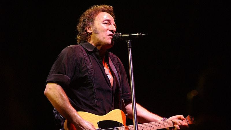 Bruce Springsteen on The Rising tour (Photo: Bob King/Getty Images)