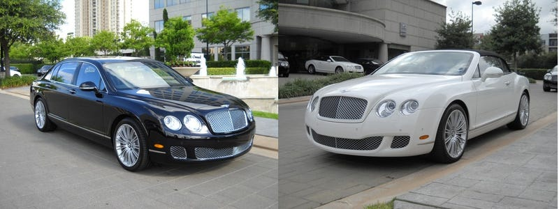 Illustration for article titled Buying A Pair of Bentleys? Don't Forget Your Fake $500,000 Check