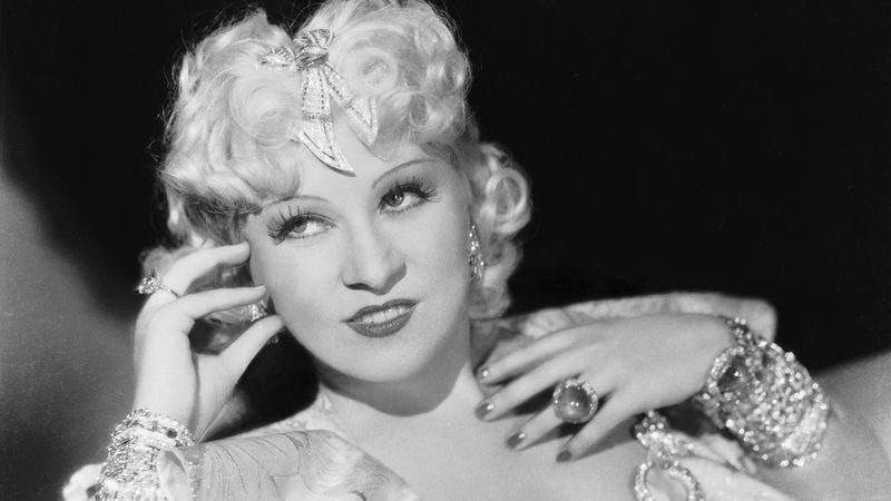 Illustration for article titled Where to start with film icon Mae West