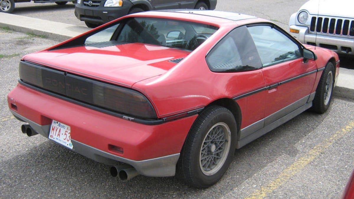 Pontiac Fiero The Definitive History Drawings
