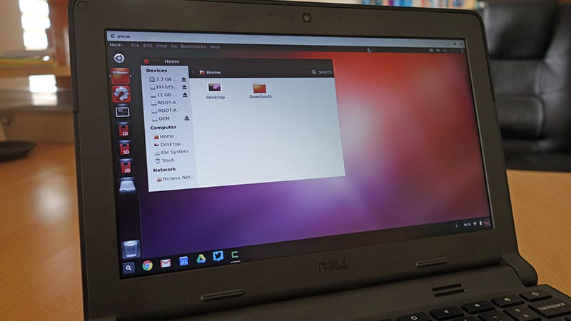 How to Run Linux on a Chromebook