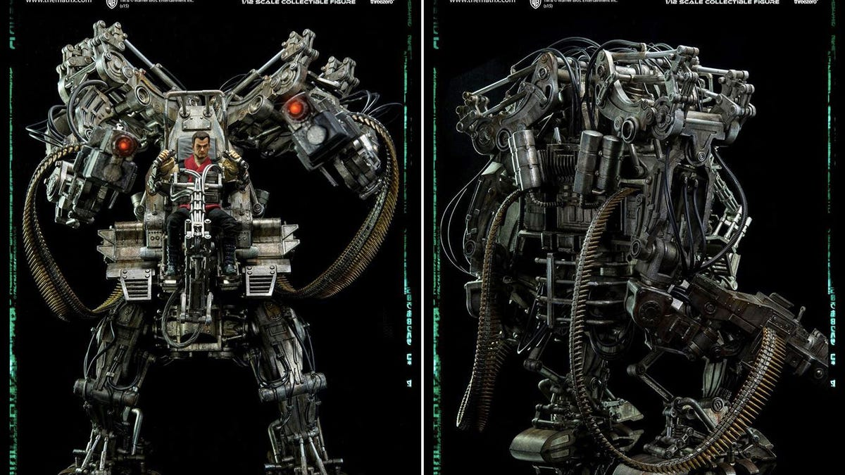 Despite the Movie, This Mech From The Matrix Revolutions Is