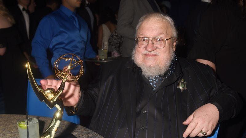 Illustration for article titled Optimist George R.R. Martin thinks The Winds Of Winter may be out this year