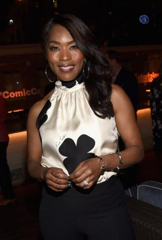 Actress Angela Bassett attends Entertainment Weekly's Comic-Con 2015 party at Float at the Hard Rock Hotel July 11, 2015, in San Diego.Michael Buckner/Getty Images for Entertainment Weekly
