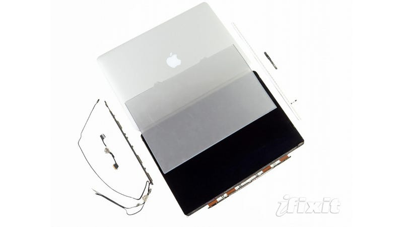 Illustration for article titled MacBook Retina Display Teardown: Four Times the Pixels In Smaller Hardware