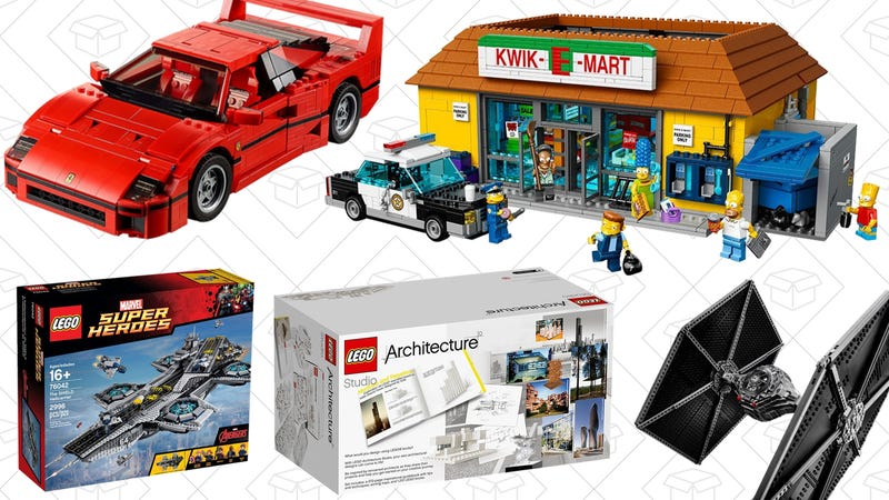 Up to 30% off select LEGO sets | Amazon