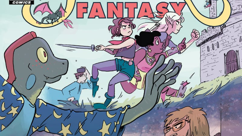 Illustration for article titled This Modern Fantasy #1 exclusive injects reality into D&D-style fantasy