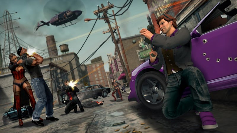 Illustration for article titled Saints Row: The Third Has Lots of Boom, But Why All The Jiggle?