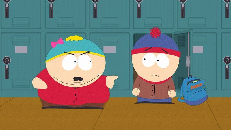 """Illustration for article titled South Park: """"The Cissy"""""""