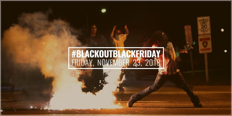 Illustration for article titled Blackout for Human Rights Launches 5th Annual #BlackoutBlackFriday Action With Terence Nance