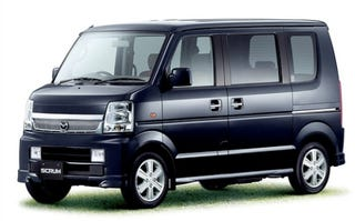 Illustration for article titled Mazda Reveals Updated Scrum Vans