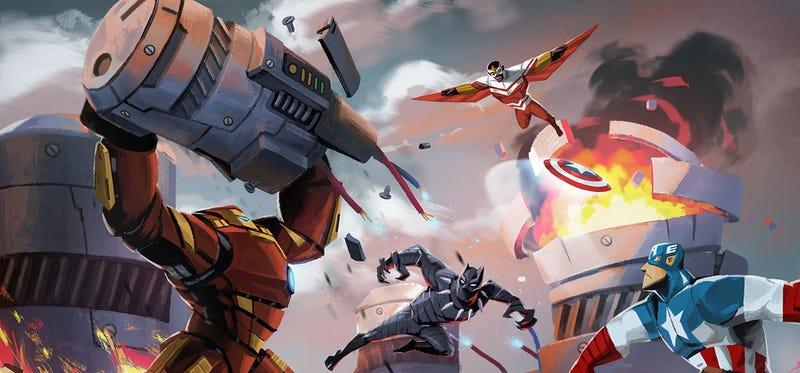 Illustration for article titled Captain America: Civil War? More Like Battle Royale.